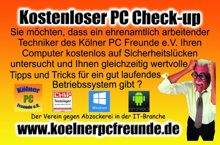 Kostenloser PC Check-up und Computer Hilfe des Kölner PC Freunde e.V.