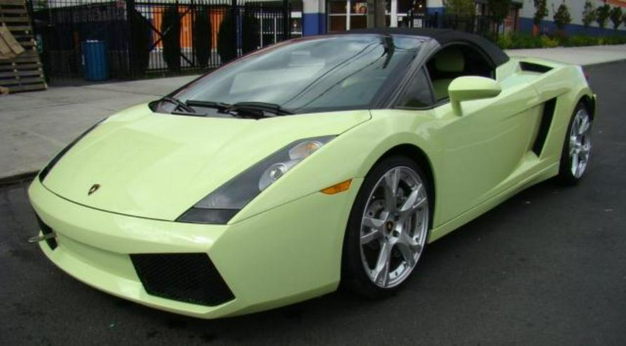 Unfallfahrzeug Lamborghini Gallardo Spider