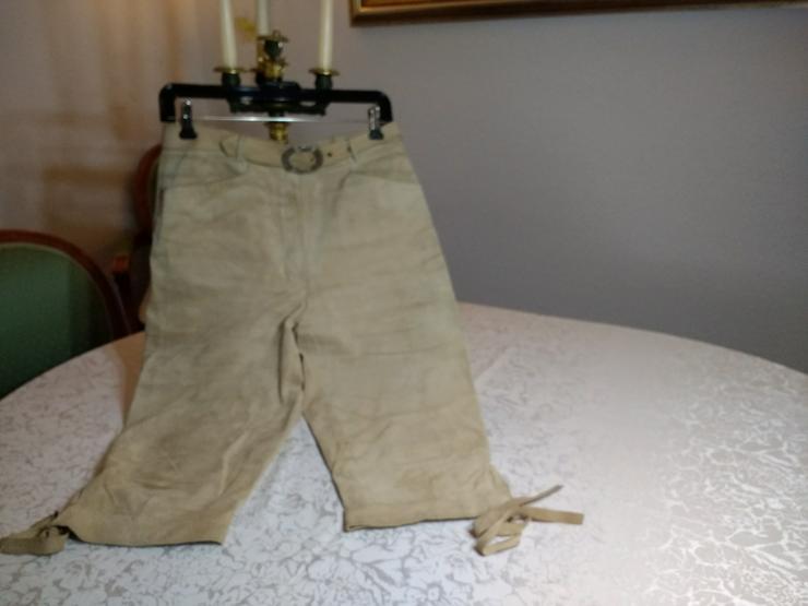 Damen Trachtenkniebund Lederhose Original Alphorn Trachten