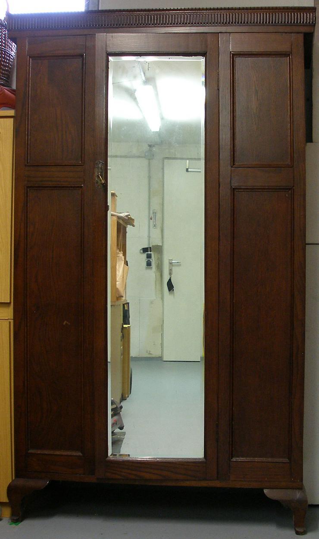 alte Spiegelgarderobe, ca. 1920, super Zustand