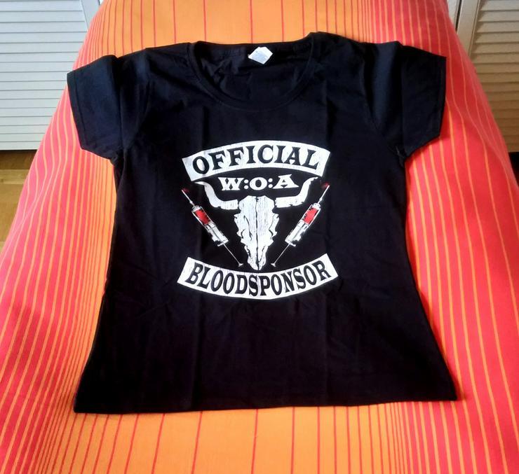 Offical Wacken Bloodsponsor Girlie T-Shirt (sonst nicht käuflich erwerbbar)!