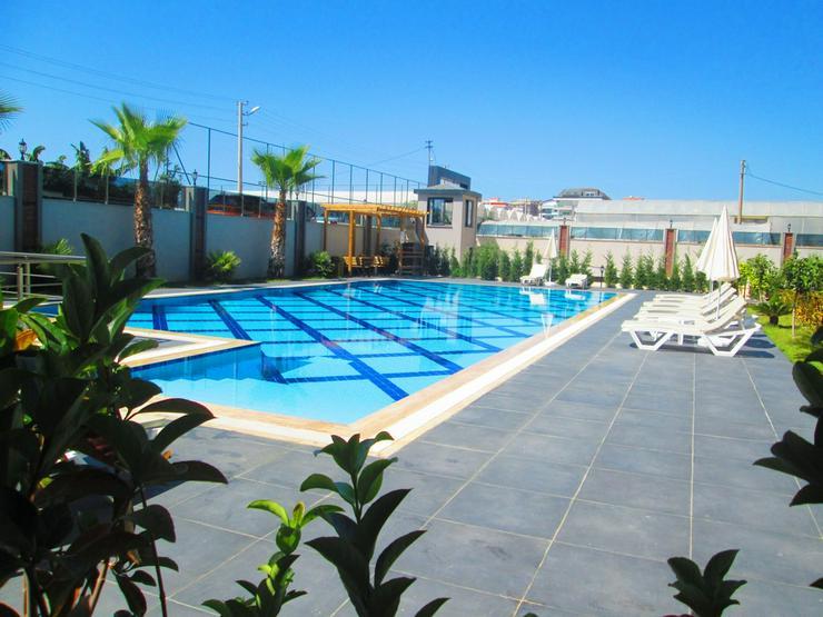 Türkei, Alanya. 3 Zi. Garten-Duplex. Neubau.350 m z Strand.556-G