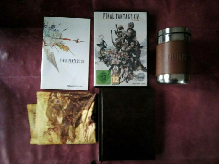 Final Fantasy XIV (14) 1.0 PC Limited Collector's Edition