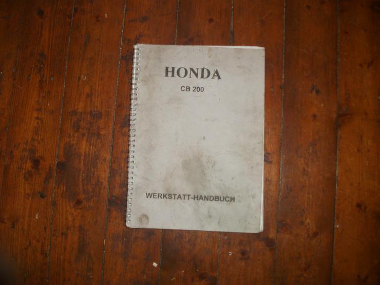 Reparaturanleitung Honda CB 200