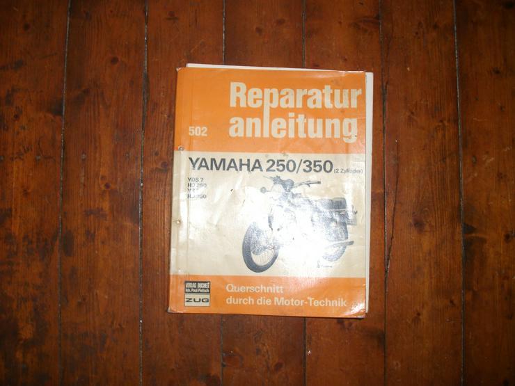 Reparaturanleitung Yamaha RD 250/350