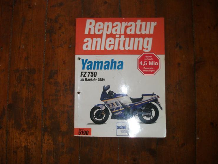 Reparaturanleitung Yamaha FZ 750