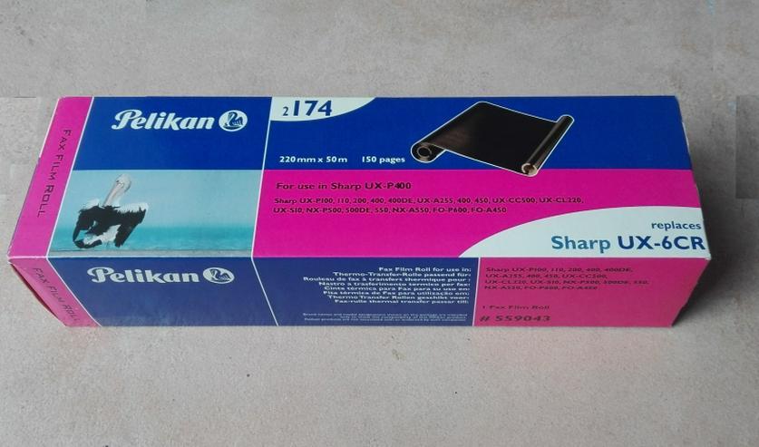 original PELIKAN Druckfolie für Sharp UX-5CR UX-6CR, 150 Seiten