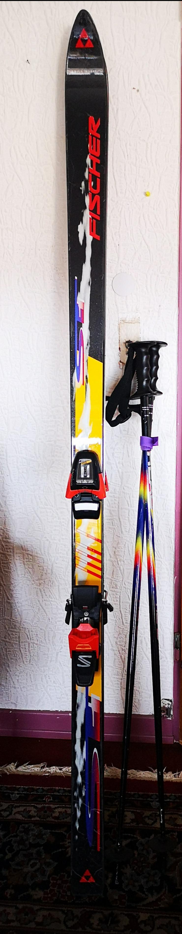 Alpin Ski, Marke Fischer mit Salomon-Bindung