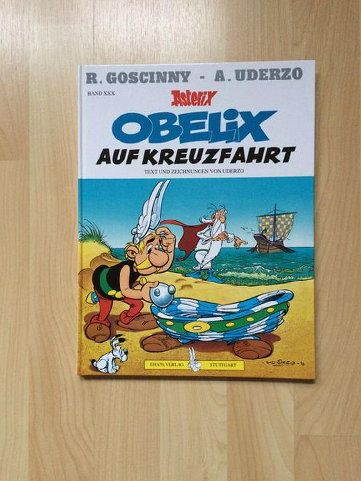 UNGELESEN Asterix Obelix auf Kreuzfahrt, B. 30, mit Widmung - Comics - Bild 1