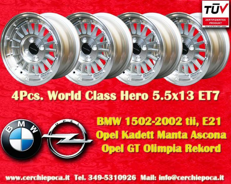 Felgen BMW 5.5x13 2002 E21 Opel Manta GT Kadett