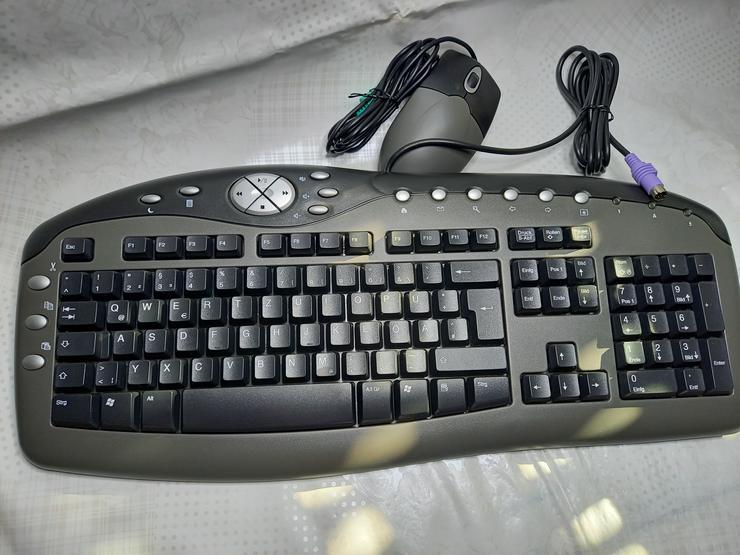 PC Tastatur Chicony KB-0108 mit Maus, neu