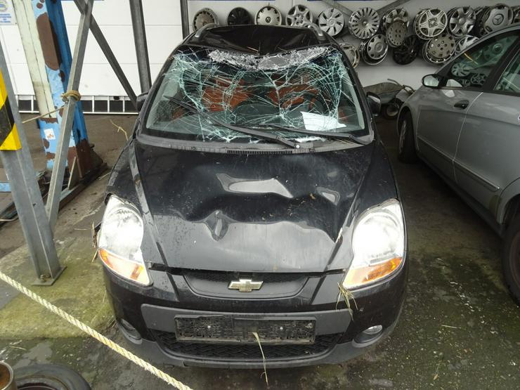 Schlachtfest Chevrolet Matiz    210146