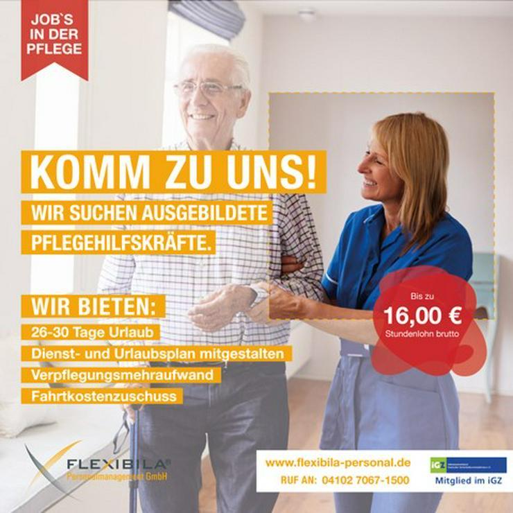 Als ausgebildete Pflegehilfskraft (m/w/d) 16,00€ / Std verdienen?