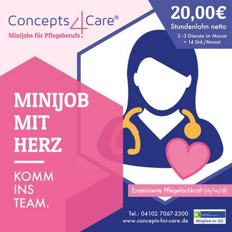 Ex. Pflegefachkraft (m/w/d) mit Herz? Komm ins Team und verdiene 20,00 EUR netto / Std..