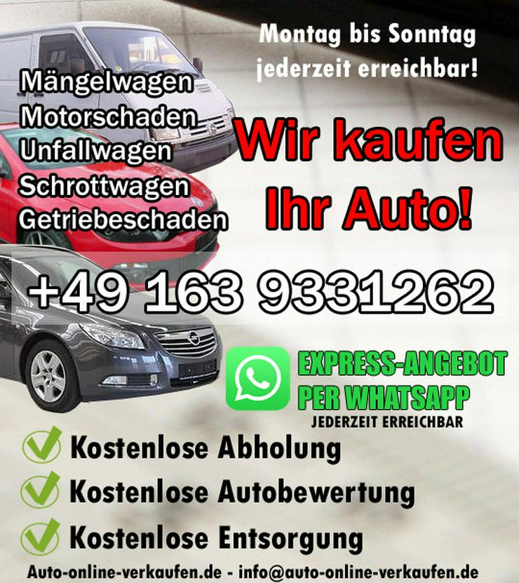 ✅ Ankauf Volkswagen - Motorschaden - Unfallwagen od. ohne TÜV