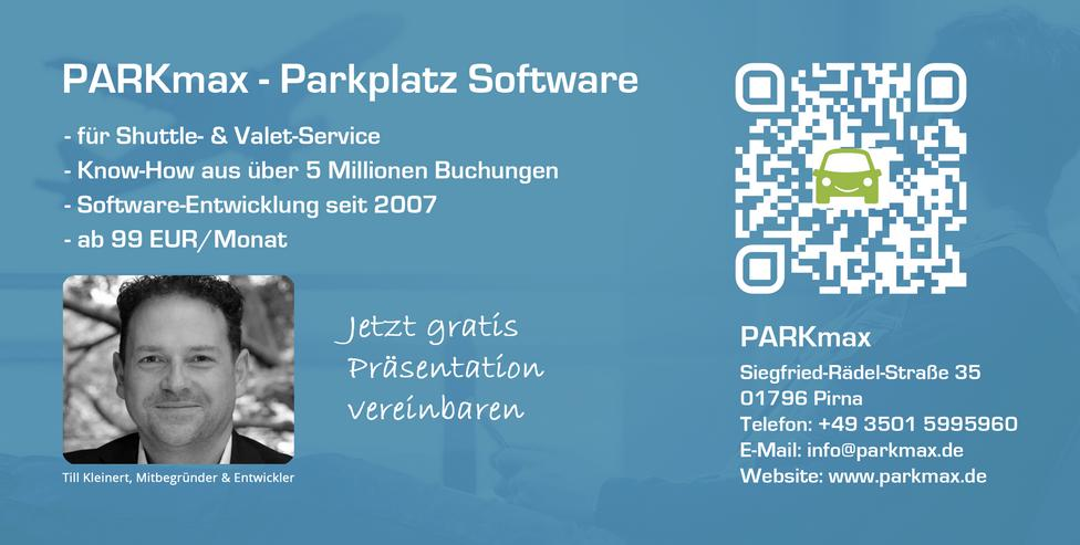 Software für Parkplatzbetreiber am Flughafen