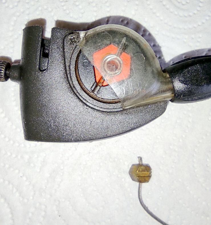 Bild 2: SRAM S7, Schaltgriff, Clickbox, Madenschraube