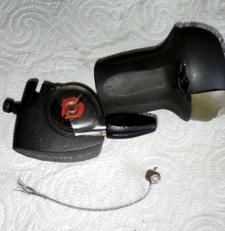 Bild 4: SRAM S7, Schaltgriff, Clickbox, Madenschraube