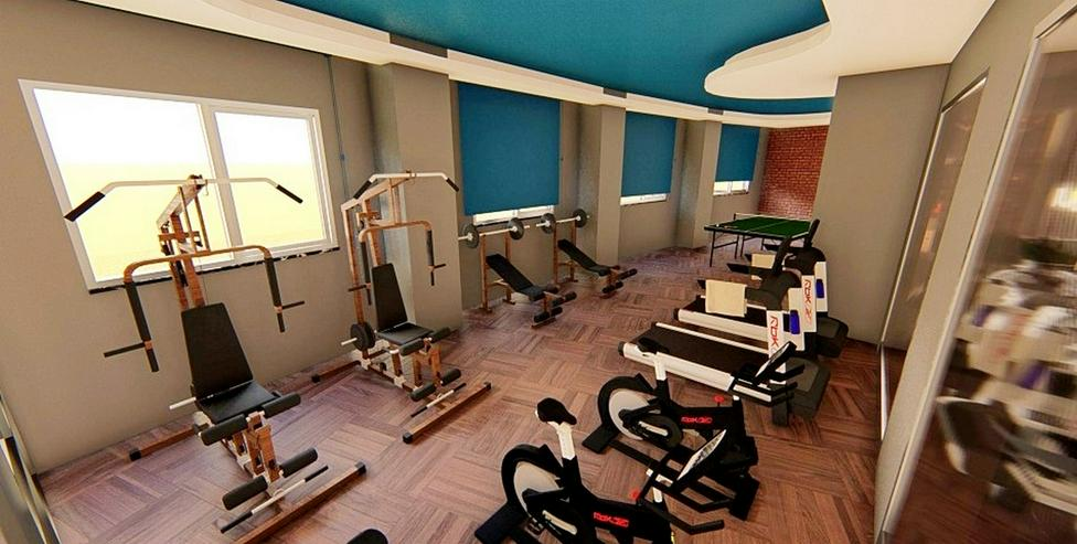 Bild 4: Türkei, Alanya. 2 Zi., Neubau,, Pool, Fitness, Strand 500 m. 554
