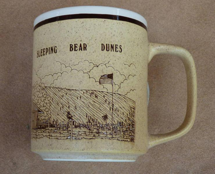 Original Kaffeebecher aus USA   Sleeping  Bear Dunes