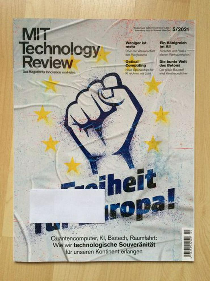 MIT Technology Review 5/2021 - UNGELESEN - Zeitschriften & Zeitungen - Bild 1