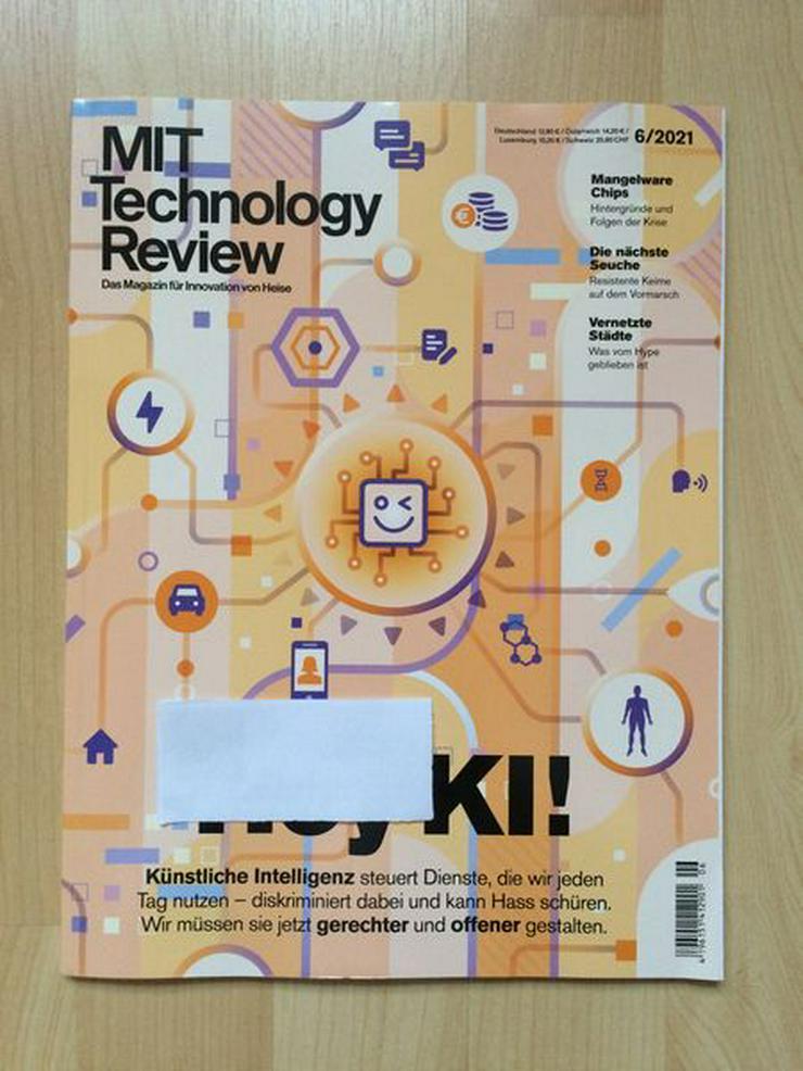 MIT Technology Review 6/2021 - UNGELESEN - Zeitschriften & Zeitungen - Bild 1