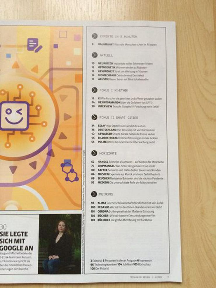 Bild 2: MIT Technology Review 6/2021 - UNGELESEN