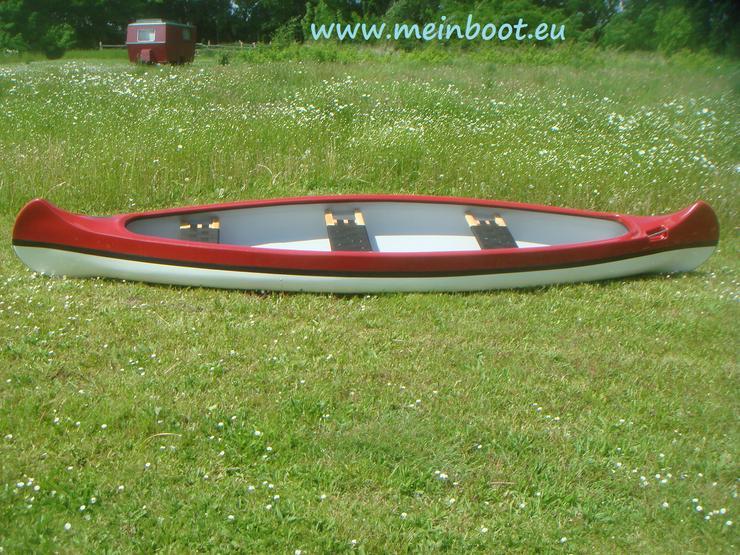 Bild 2: Kanu 3er Kanadier 500 Neu ! in rot /weiß