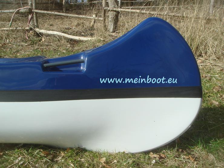 Bild 6: Kanu 4er Kanadier 500 Neu ! in blau /weiß