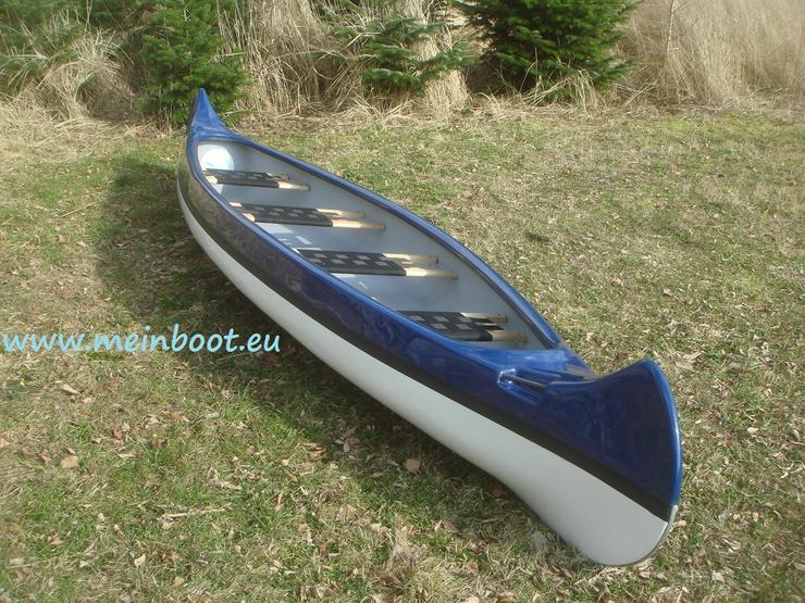 Bild 3: Kanu 4er Kanadier 500 Neu ! in blau /weiß
