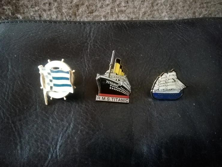 Pins  Titanic  Gorch Fock  Segeln  TOP  inkl. Versand  - Anstecker & Wappen - Bild 1