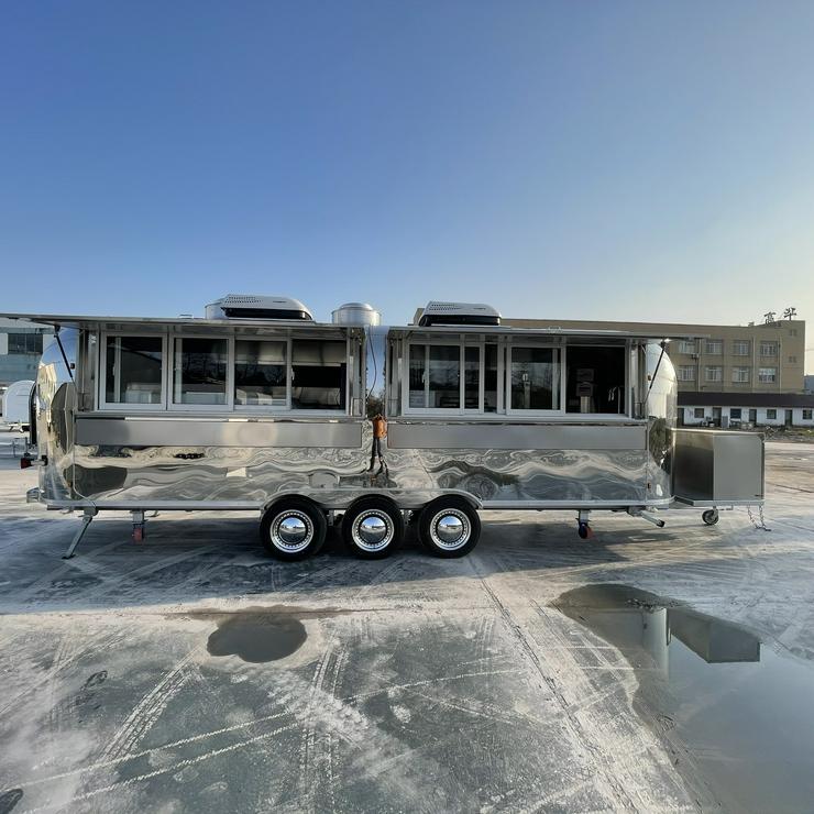 Imbisswagen, Food Truck, Verkaufswagen, Verkaufsanhänger, NEU 6.8M - Zubehör & Ersatzteile - Bild 1