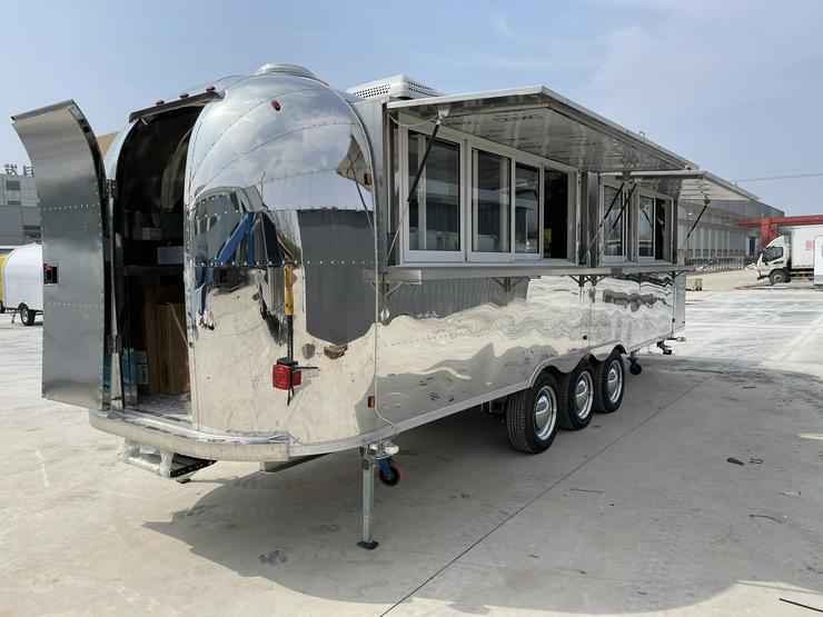 Bild 4: Imbisswagen, Food Truck, Verkaufswagen, Verkaufsanhänger, NEU 6.8M