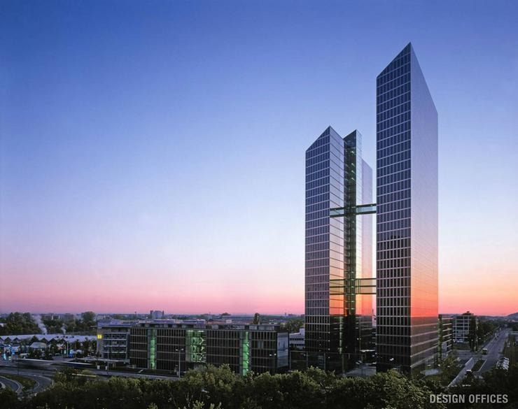 Design Offices München HighlightTowers - Flex Desk - Büro & Gewerbeflächen mieten - Bild 1