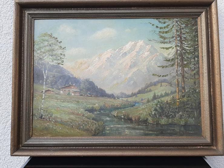 Landschaftsgemälde (Alpen)