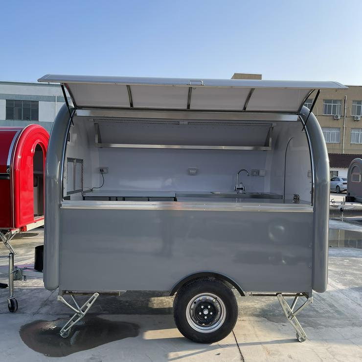 Imbisswagen Imbissanhänger Verkaufsanhänger Food-Truck 2.8M