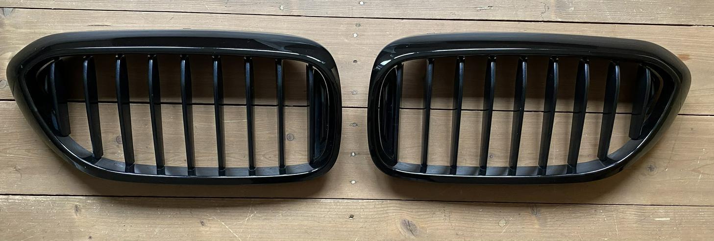 BMW Grill / Ziergitter schwarz für 5er E31 gebraucht
