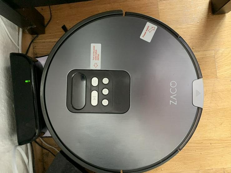 Zaco V 80 Wasch und Staubsauger Roboter
