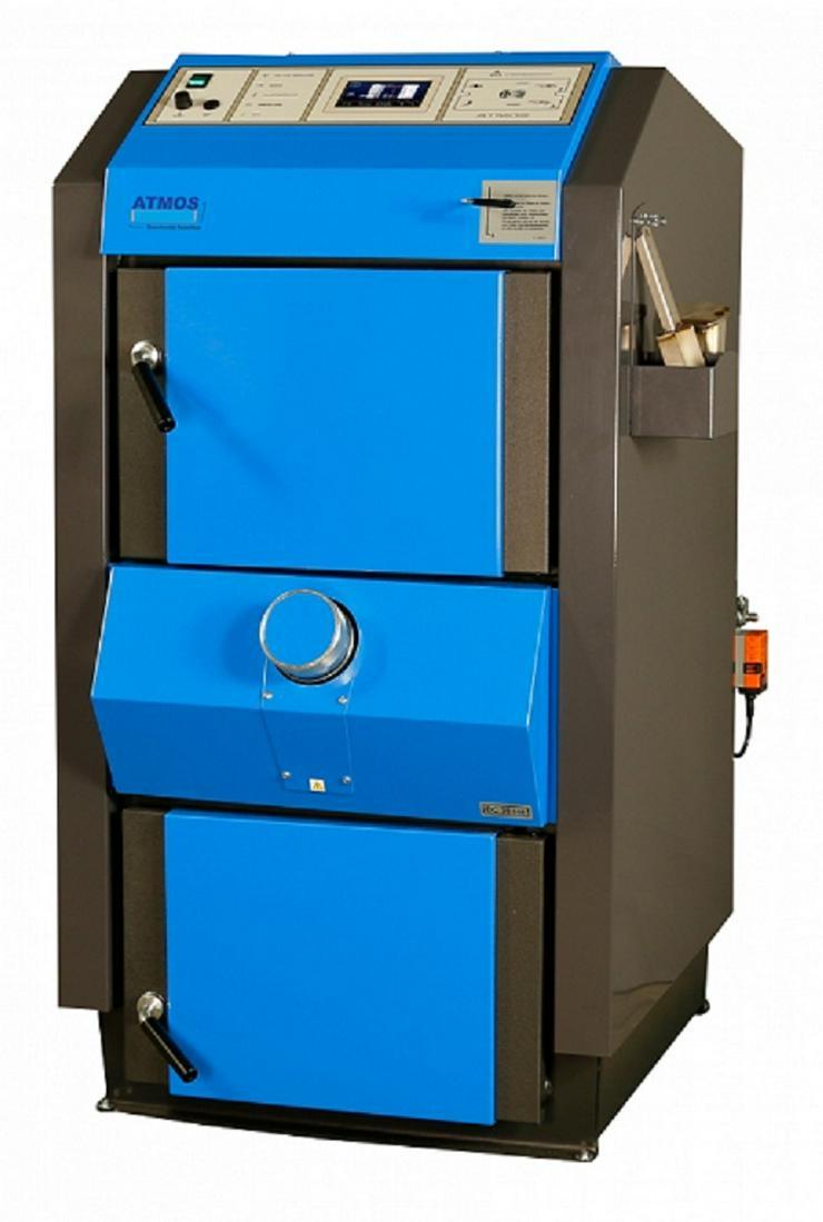 Holzvergaser Atmos DC 18 GSE automatische Zündung, ACD04 Regelung