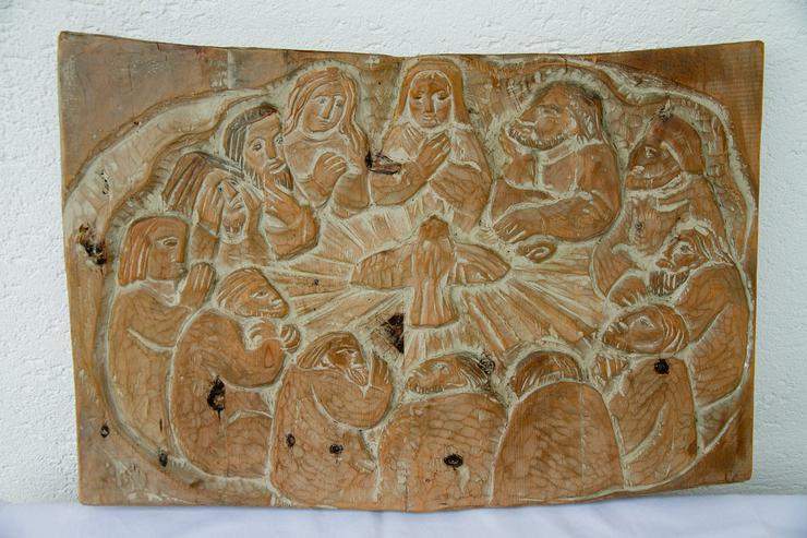 Holzschnitzarbeit Holzrelief (Eduard Moroder)