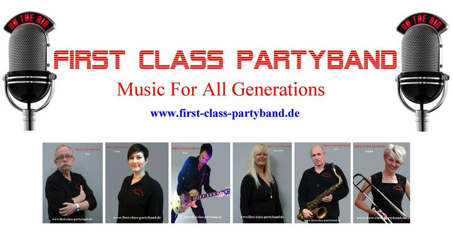 FIRST CLASS BAND  Musik For All Generations