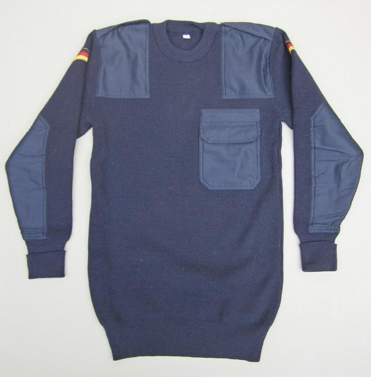 Bundeswehr Pullover, Gr. 50, blau / marine