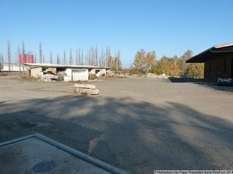Bild 2: Freiflächen, Düngemittelhalle, Stellplätze und Gebäudeteile für Gewerbe zu vermieten!