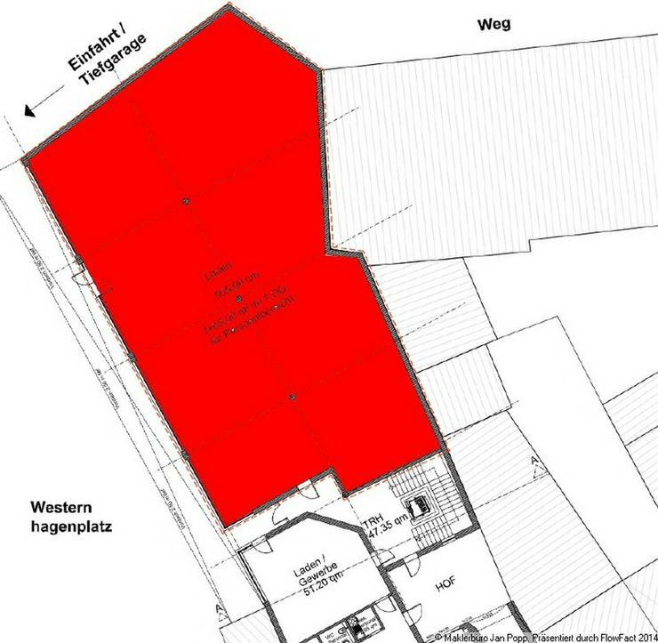 Bild 2: Grundstück mit Innenstadtlage zur Bebauung