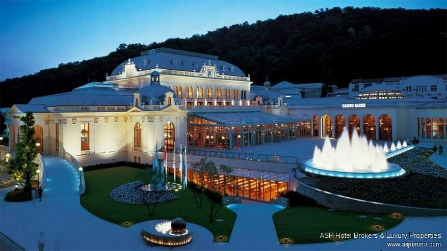 Das prachtvolle JÄGERHAUS Areal in Baden bei Wien mit über 23.000 m² Grundstück zu ver...