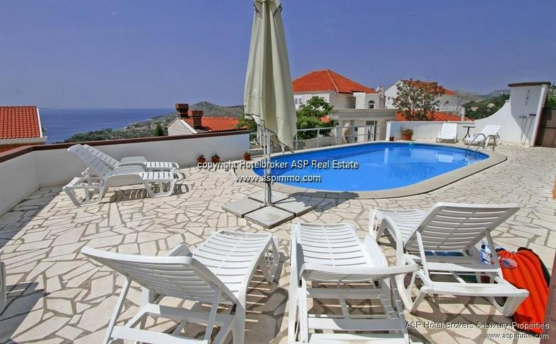 Bild 3: Appartementhaus in traumhafter Panorama-Lage in Mlini bei Dubrovnik, Kroatien zu verkaufen