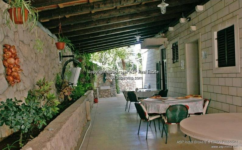Bild 6: Naturstein verkleidete Hotel Villa mit Appartements und Meerblick in Dubrovnik Kroatien zu...