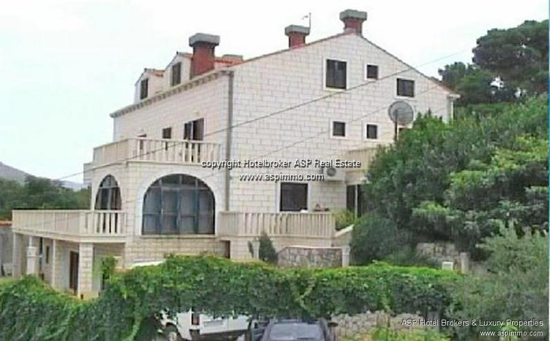 Bild 3: Naturstein verkleidete Hotel Villa mit Appartements und Meerblick in Dubrovnik Kroatien zu...