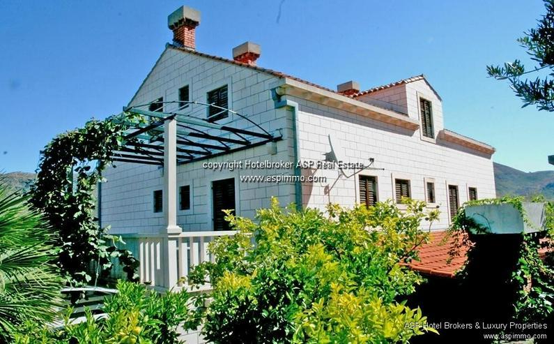 Bild 4: Naturstein verkleidete Hotel Villa mit Appartements und Meerblick in Dubrovnik Kroatien zu...