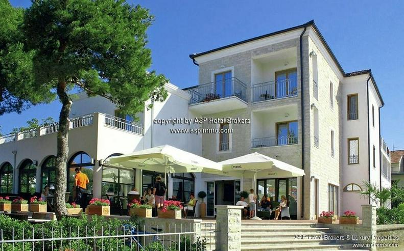 Neuwertiges 3-Sterne Hotel in der Tourismushochburg Vodice / Dalmatien / Kroatien zu verka...